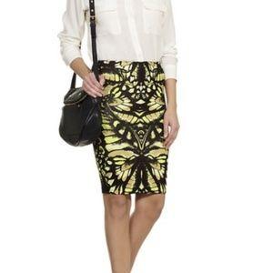 McQ  Alexander McQueen knit pencil skirt